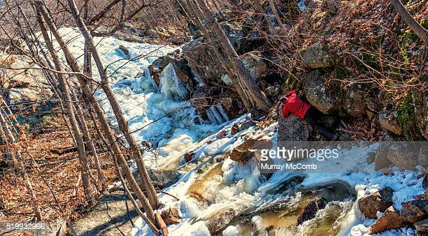 adventure photographer at work - murray mccomb stock pictures, royalty-free photos & images