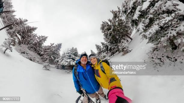 Adventure selfie