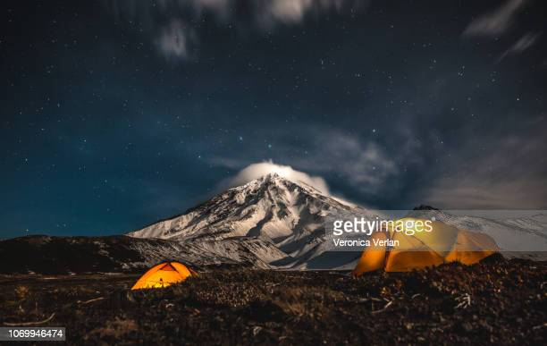 adventure time in kamchatka - summits russia 2015 stock pictures, royalty-free photos & images