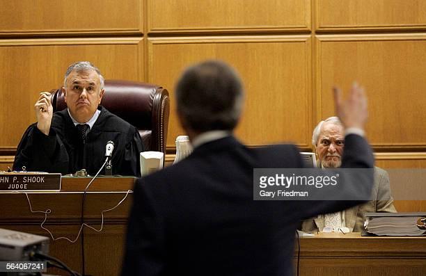 Adventure writer Clive Cussler testifies in LA Superior Court on 2/13/07 Denver billionaire Philip Anschutz and Cussler have filed dueling lawsuits...