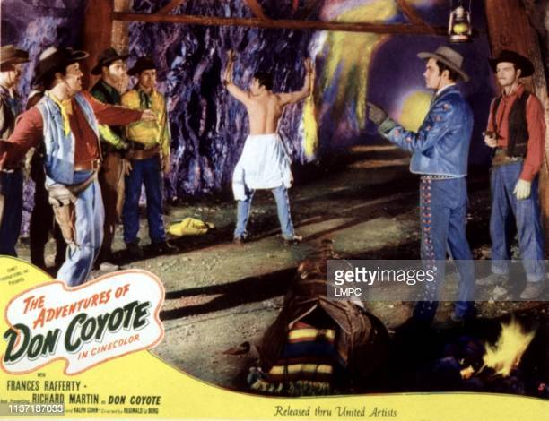 Adventures Of Don Coyote lobbycard THE Richard Martin 1947