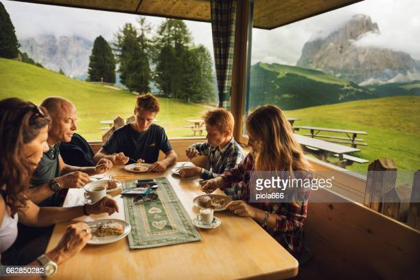 Adventures on the Dolomites: relaxing in a cabin