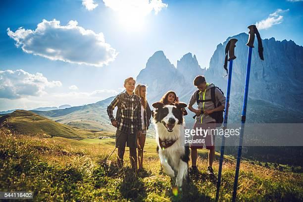 Aventures dans les Dolomites avec chien