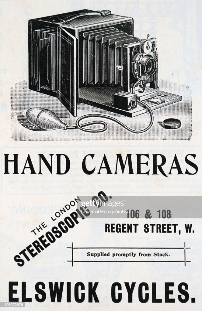 Advert for a Kodak Camera which used Eastman negative film
