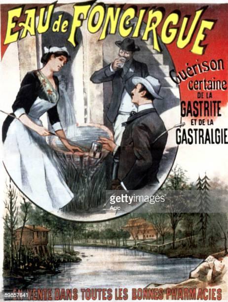1892 advert for Foncirgue water against gastritis