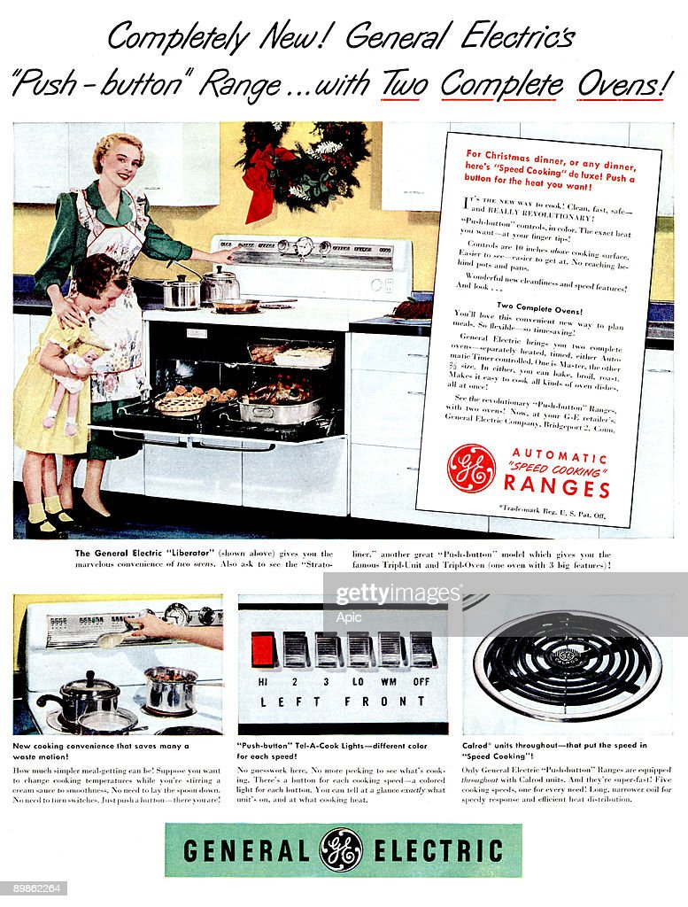 General Electric Stove With Double Oven