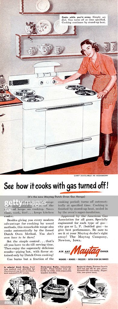 Maytag Oven Says Off