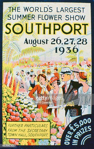 Advert for the Southport Flower Show, Lancashire, 1936.