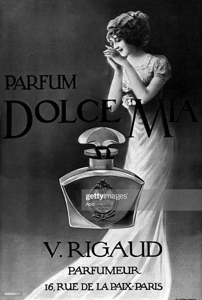 1913 Photo For D By Perfumer Rigaud Mia Perfume Advertisement Dolce TKJlFc31