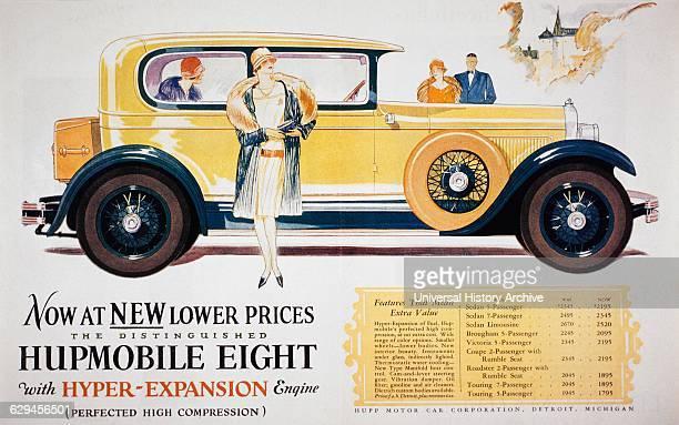 Advertisement for Hupp Motor Car Company 1927