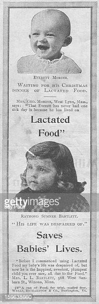 Advertisement for Lactated Food 1892