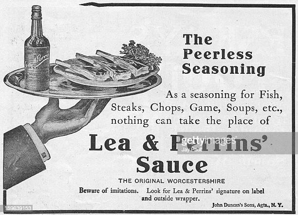 Advertisement for Lea Perrins' Worcestershire Sauce 1906