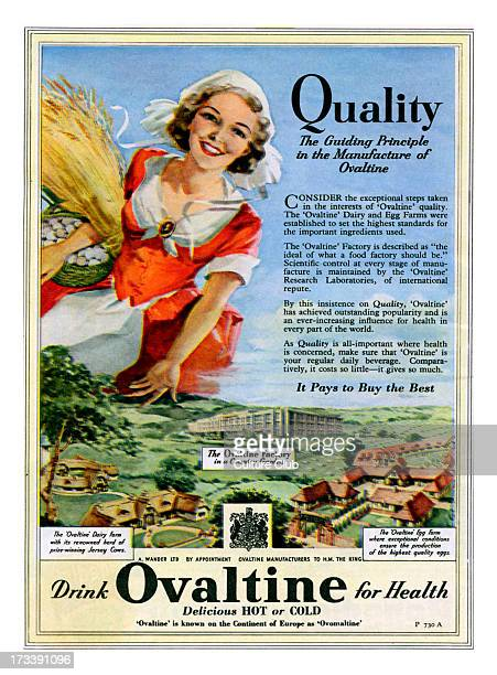 Advertisement for Ovaltine 1950s