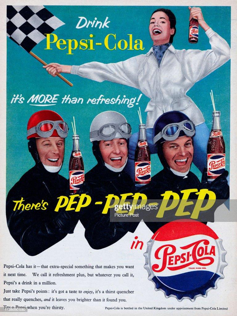 Pepsi-Cola : ニュース写真