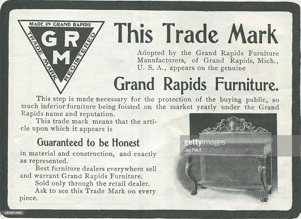 Ad For Grand Rapids Furniture