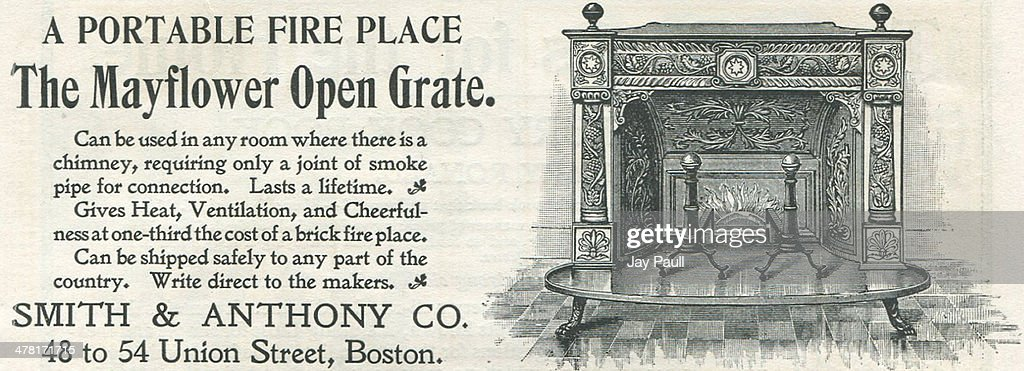 Ad For Mayflower Fireplace