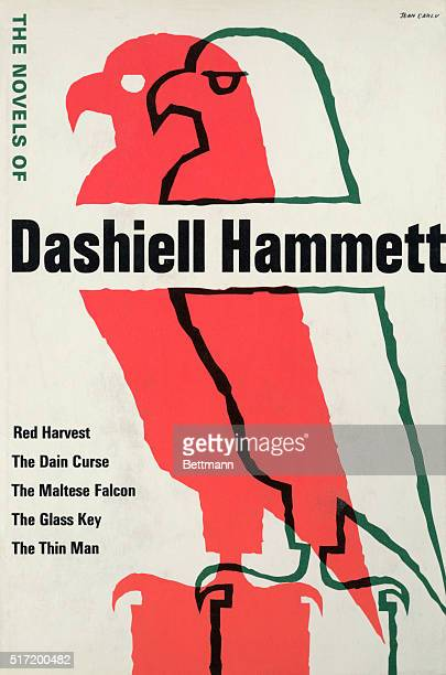 Advertisement for the writings of author Dashiell Hammett Hammett began to publish short stories after he contracted tuberculosis while serving in...