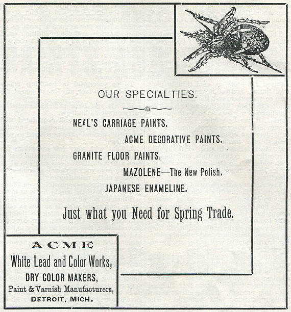Ad For Acme Paint Varnish