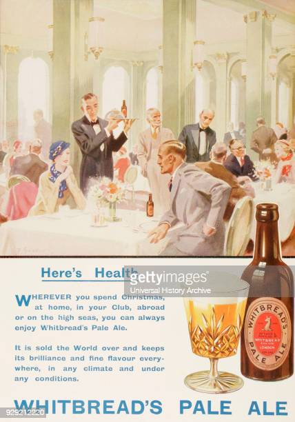Advertisement for Whitbread's Pale Ale From The London Illustrated News Christmas Number 1933