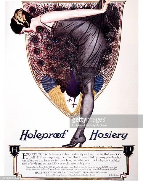 Advertisement Holeproof Hosiery circa 1925