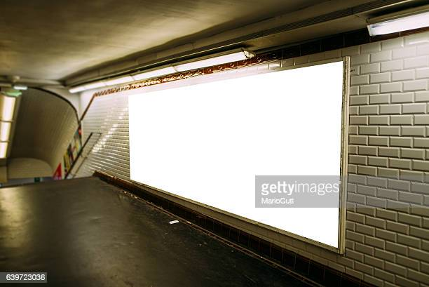 advertisement panel - railway station stock pictures, royalty-free photos & images