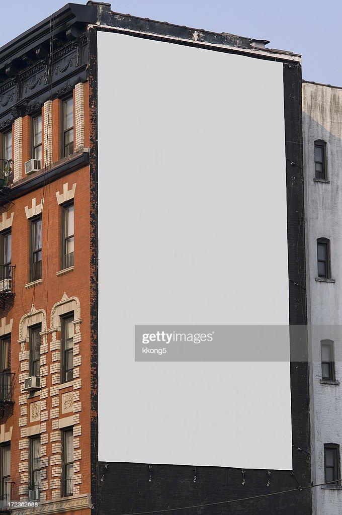 Publicidade outdoor espaço em Manhattan New York : Foto de stock
