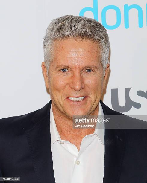 Advertising executive/TV personality Donny Deutsch attends the USA Network hosts the premiere of Donny at The Rainbow Room on November 3 2015 in New...