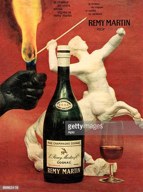 Advertising for Cognac Remy Martin 50's