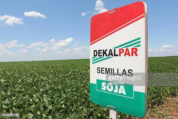 Advertising for Dekapar represent of Bayer cropscience and Monsanto in paraguay