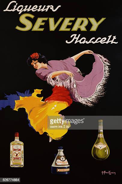 Advertising Poster for Liqueurs Severy Hasselt by Berckmanz