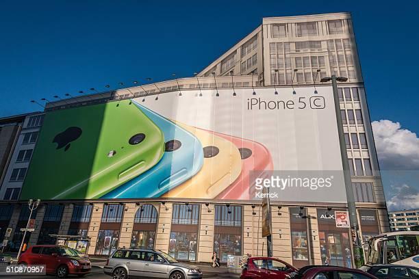 広告スペースでは、ポツダム広場、サンセット