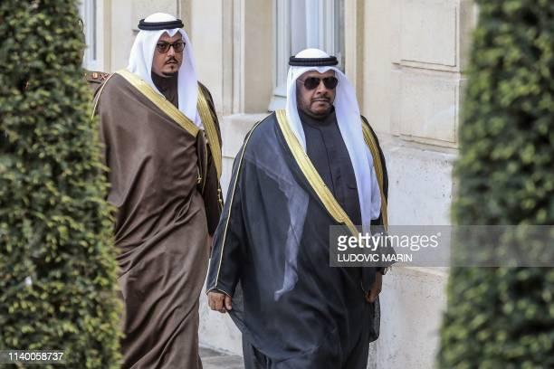 Adviser at the Kuwaiti Defence Ministry Sheikh Hamad Khaled Al-Hamad Al-Malek Al Sabah and Kuweit's Defense Ministry Undersecretary Sheikh Ahmad...