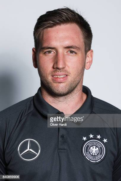 Adviser for nutrient Julian Vogt of Germany poses for the Germany U21 Team Presentation on August 29 2017 in Harsewinkel Germany