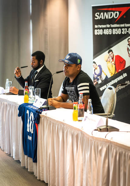 DEU: press conference with Ronny