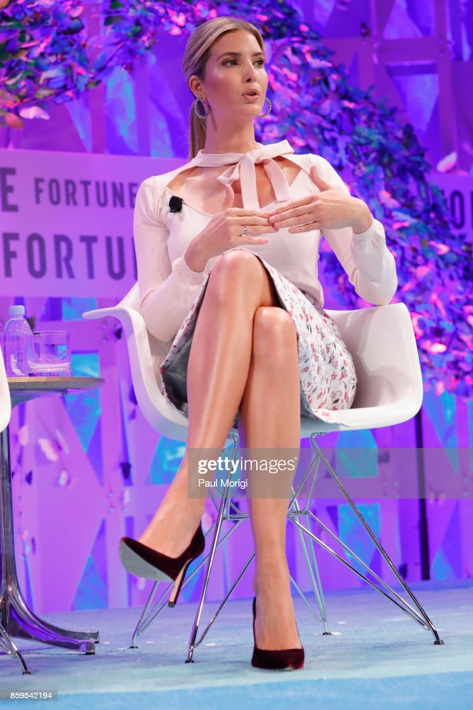 Advisor to the president Ivanka Trump speaks onstage at the Fortune Most Powerful Women Summit on October 9, 2017 in Washington, DC.