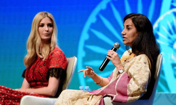 Ivanka Trump attends the Global Entrepreneurship Summit in Hyderabad