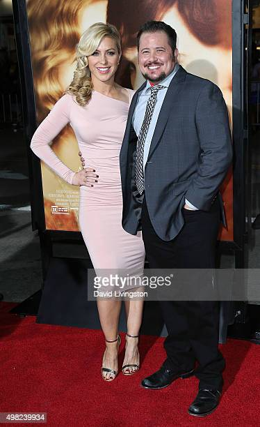 Advocate Chaz Bono attends the premiere of Focus Features' The Danish Girl at the Regency Village Theatre on November 21 2015 in Westwood California