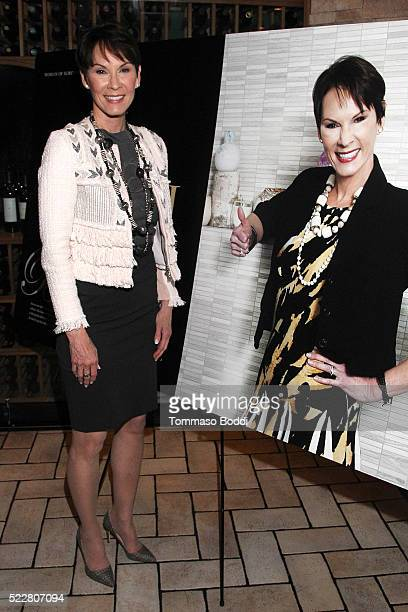 Advocate for women Cheryl Saban attends the Haute Living Pasquale Bruni's Giardini Segreti Collection celebrates women of substance Cheryl Saban at...