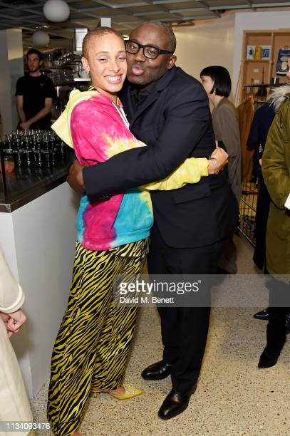 Adwoa Aboah and Edward Enninful attend the Gurls Talk x Barbie event hosted by Adwoa Aboah celebrating their collaboration at Dover Street Market on...