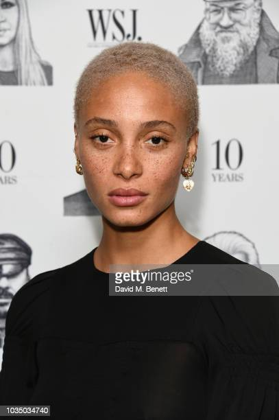 Adwoa Aboah attends as WSJ celebrates the publication of On Point marking 10 years of the magazine with cocktails hosted by Editor in chief Kristina...