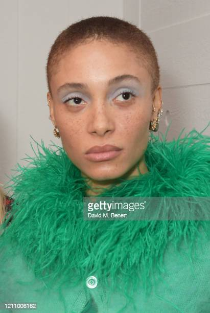 Adwoa Aboah attends British Vogue's Forces For Change during the WOW Women Of The World Festival at Southbank Centre on March 07 2020 in London...