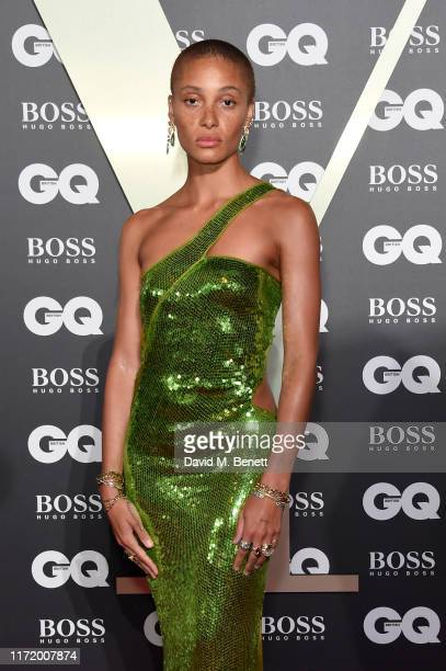 Adwoa Aboah attends GQ Men Of The Year Awards 2019 in association with HUGO BOSS at Tate Modern on September 03, 2019 in London, England.