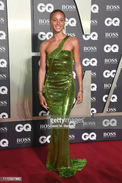 Adwoa Aboah attends GQ Men Of The Year Awards 2019 in association with HUGO BOSS at Tate Modern on September 03 2019 in London England