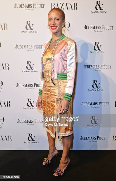 Adwoa Aboah attends Harper's Bazaar Women of the Year Awards in association with Ralph Russo Audemars Piguet and MercedesBenz at Claridge's Hotel on...