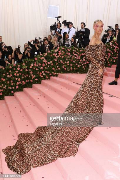 Adwoa Aboah attends the 2019 Met Gala celebrating Camp Notes on Fashion at The Metropolitan Museum of Art on May 6 2019 in New York City
