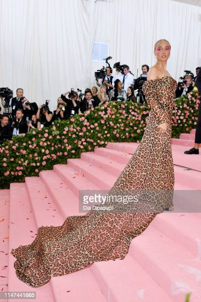 Adwoa Aboah attends The 2019 Met Gala Celebrating Camp Notes on Fashion at Metropolitan Museum of Art on May 06 2019 in New York City