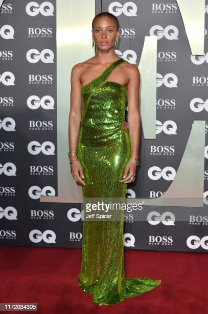 Adwoa Aboah attends the GQ Men Of The Year Awards 2019 at Tate Modern on September 03 2019 in London England