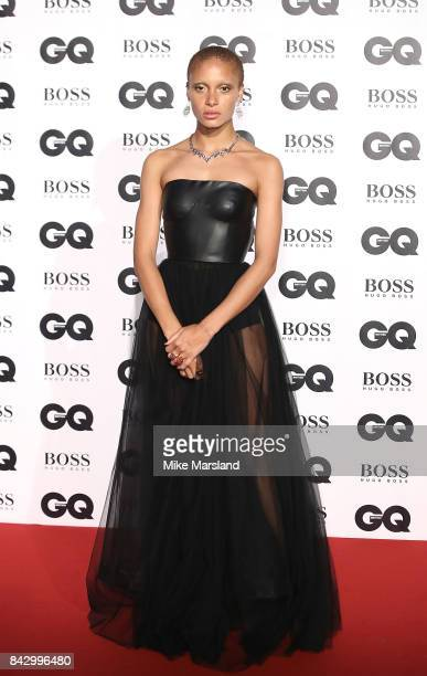 Adwoa Aboah attends the GQ Men Of The Year Awards at Tate Modern on September 5 2017 in London England