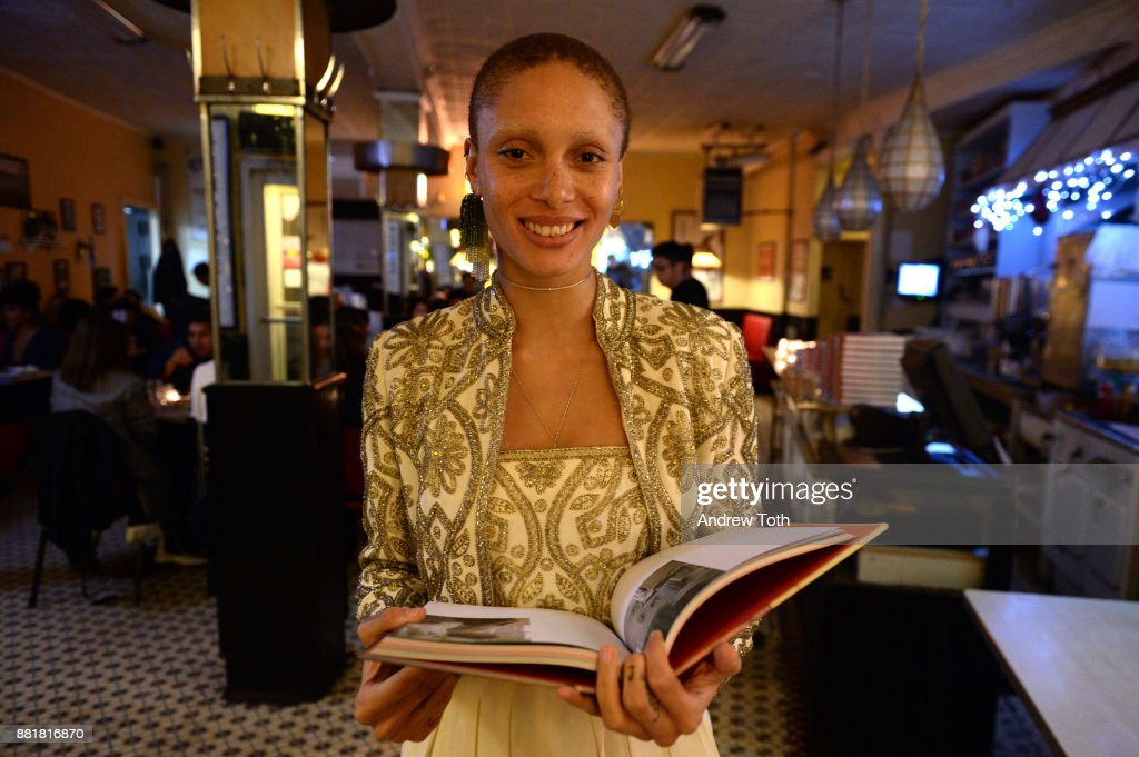 Adwoa Aboah attends the release of Petra Collins: Coming of Age hosted by Gucci on November 28, 2017 in New York City.