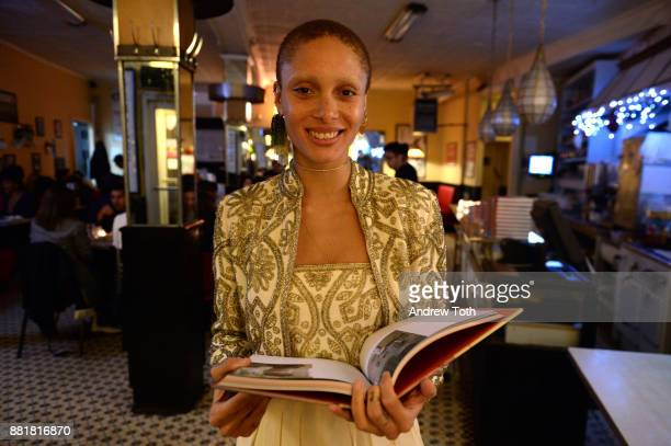 Adwoa Aboah attends the release of Petra Collins Coming of Age hosted by Gucci on November 28 2017 in New York City